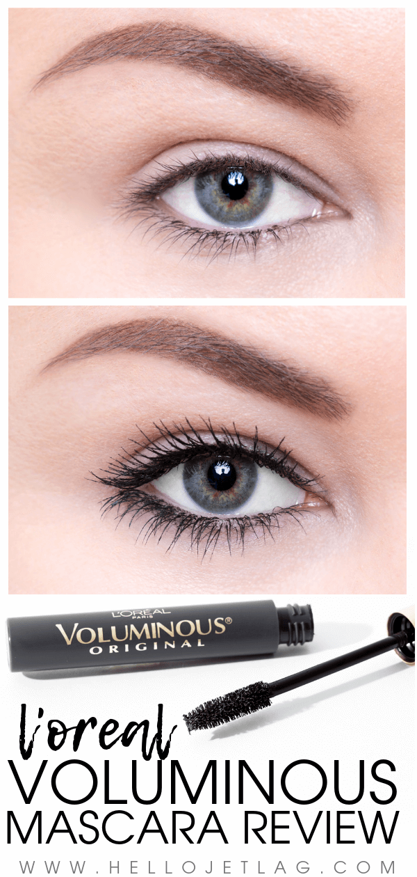 7f7aef2690a A in-depth review of L'Oreal Voluminous Mascara . Swatches, before &