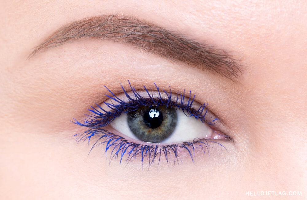 L'Oreal Voluminous Mascara in Cobalt Blue