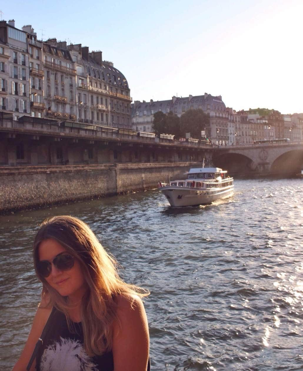 Sunsets on the Seine