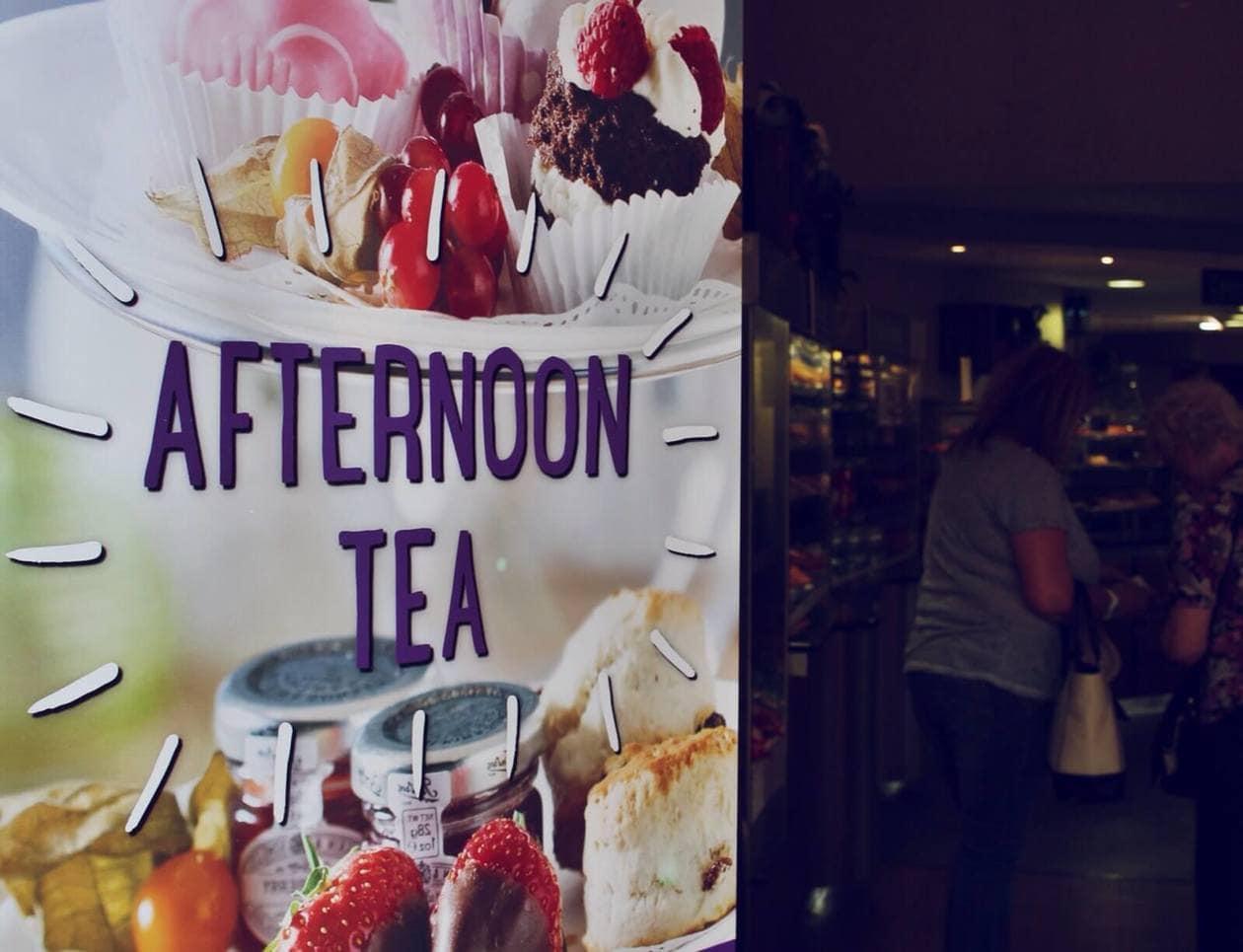 Afternoon Tea at Dobbies