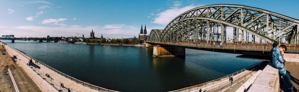 Rhine River, Cologne