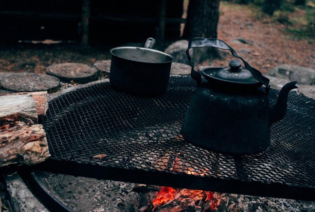 Kolarbyn Eco Lodge Campfire