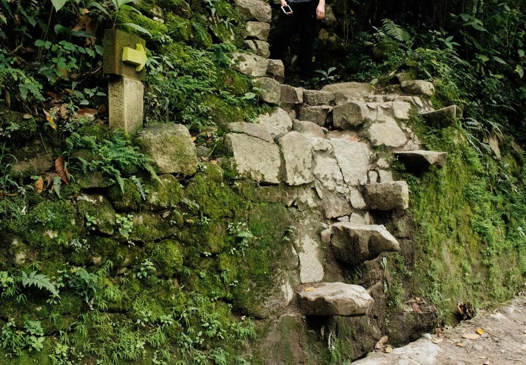 Hiking Machu Picchu from Aguas Calientes