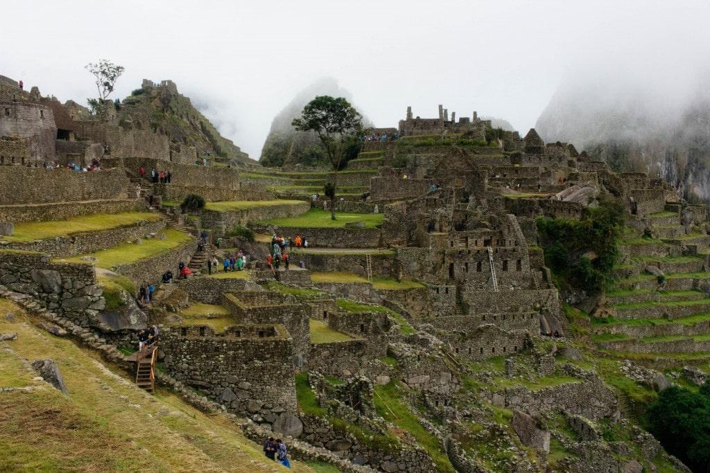 Aguas Calientes to Machu Picchu