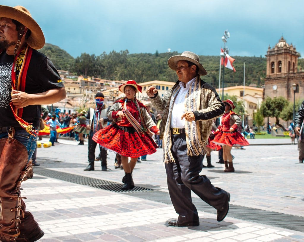 Dancing in Cusco