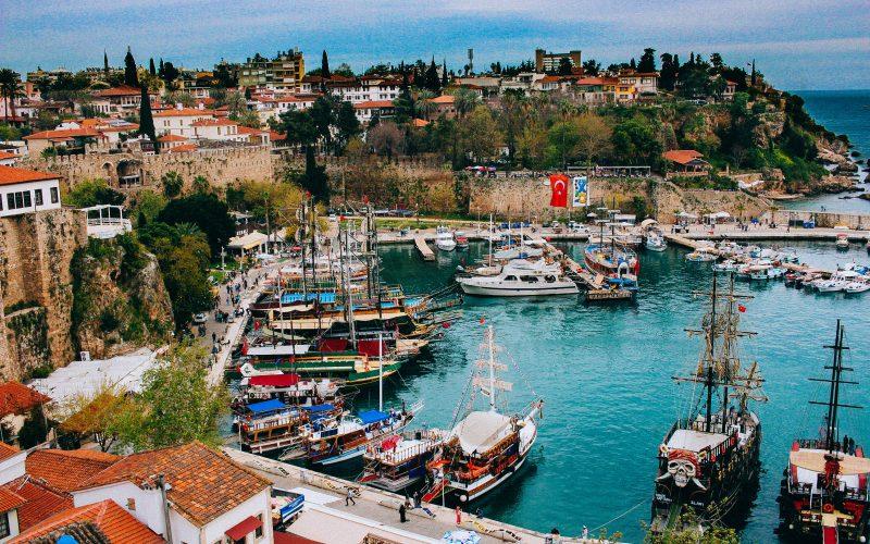 Antalya Harbor, Turkey