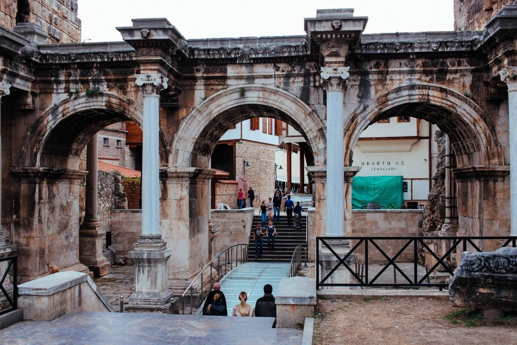 Hadrian's Gate, Antalya Turkey