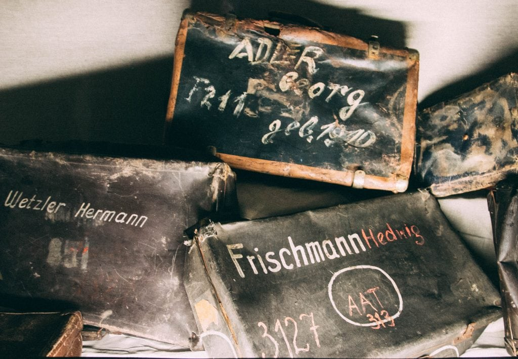Auschwitz - Jewish Prisoner's Luggage
