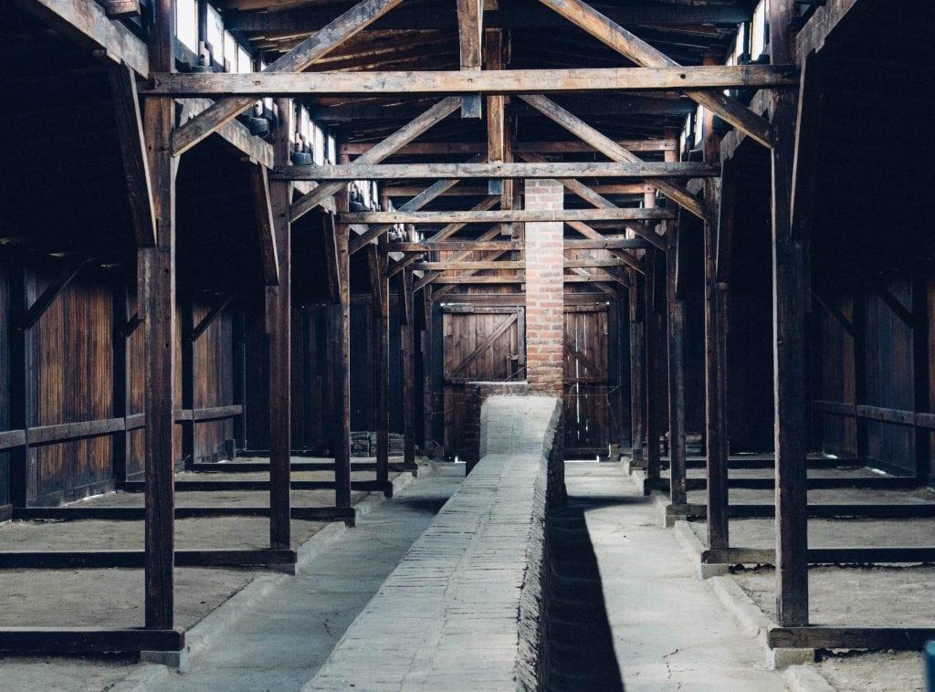 The Men's Barracks at Auschwitz - Birkenau
