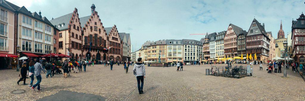 Romerburg, Old Town Frankfurt