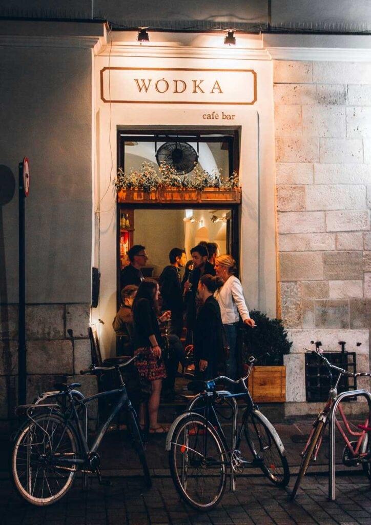 Wodka Vodka Bar in Krakow, Poland