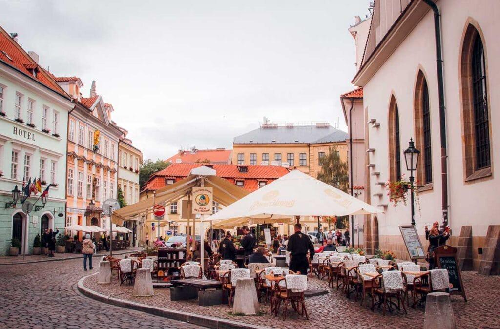 Tipping in Prague