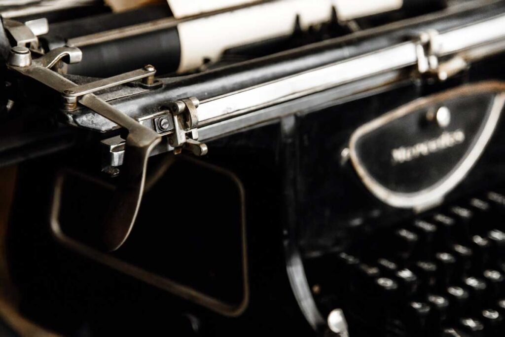 Oskar Schindler's typewriter