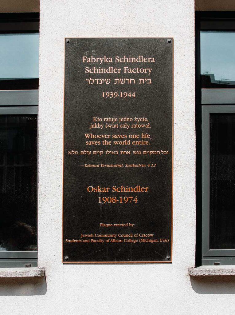 Oskar Schindler's Factory Museum