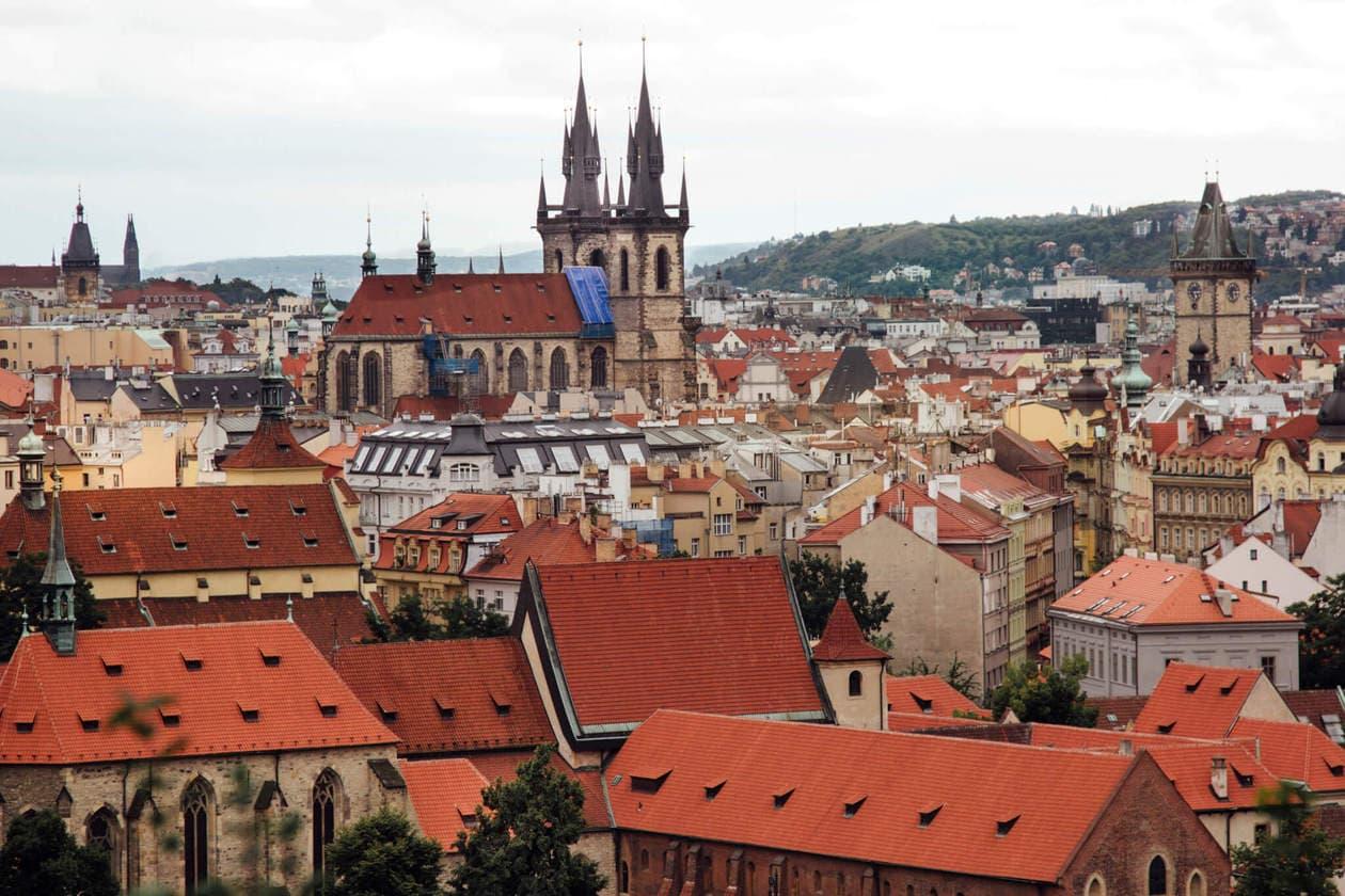 Letna Beer Garden with a View, Prague