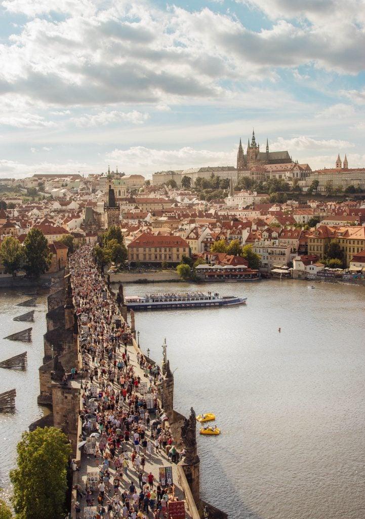 Old Town Bridge Tower View of Prague