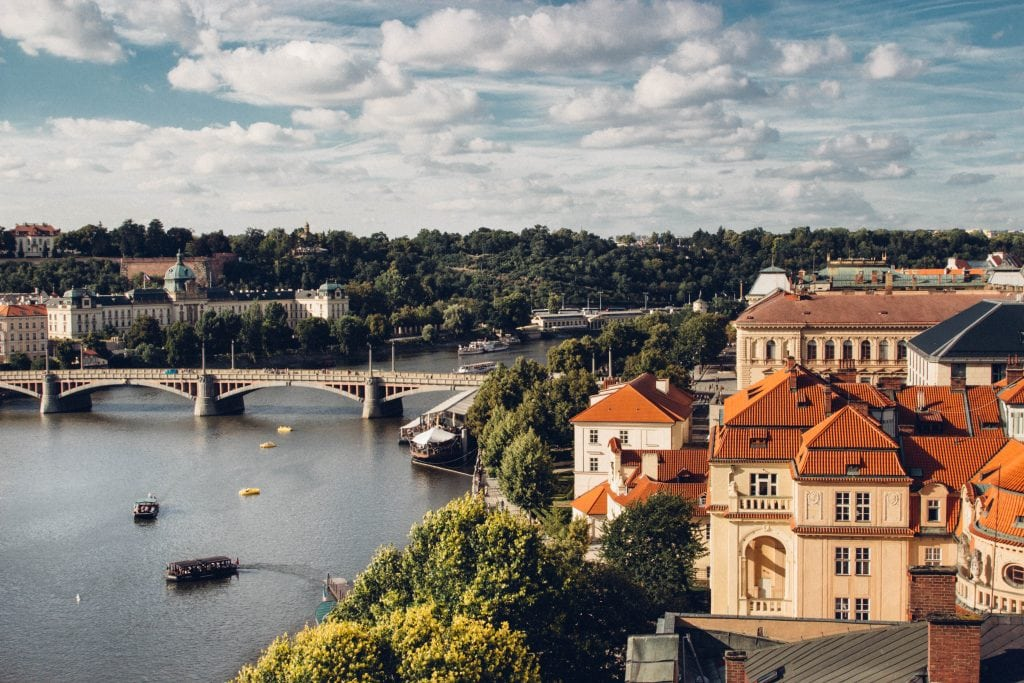 Old Town Bridge Tower in Prague // The Best View of Prague