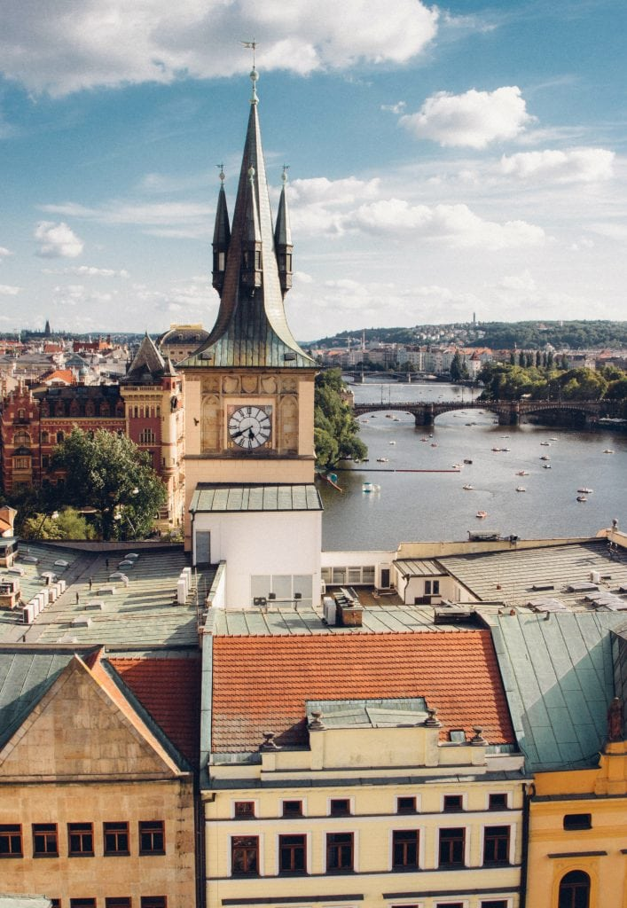 The Old Town Bridge Tower // Where to Go for the Best Views of Prague