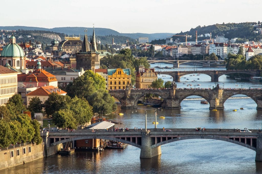 Best Views in Prague // Letenske Sady