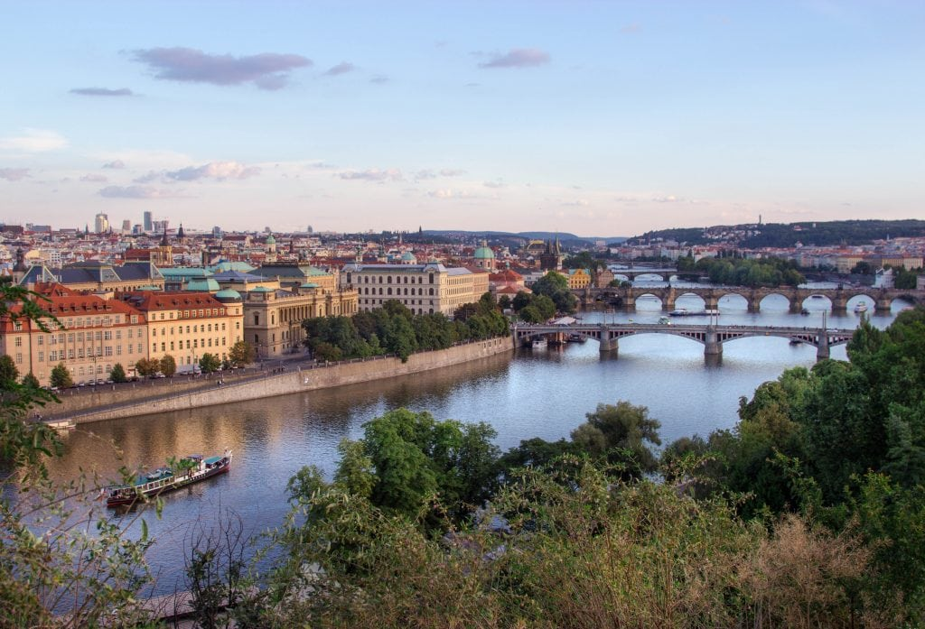 The Best Views in Prague // Letna Park
