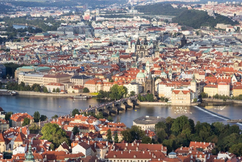 The Best Views in Prague // Petrin Hill Observation Tower