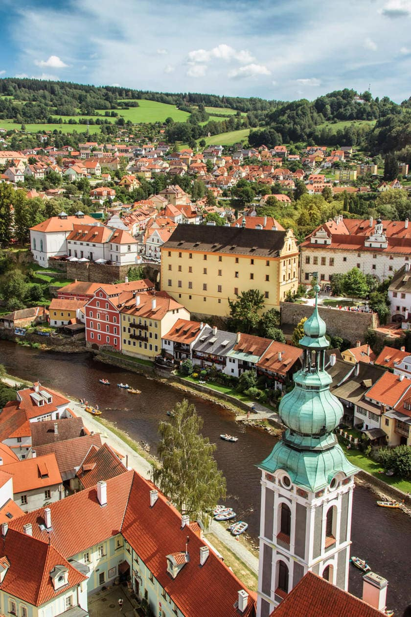 How to Get from Prague to Cesky Krumlov
