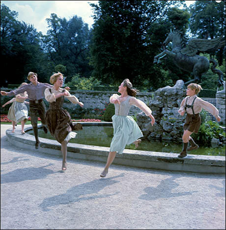 The Sound of Music Fountain