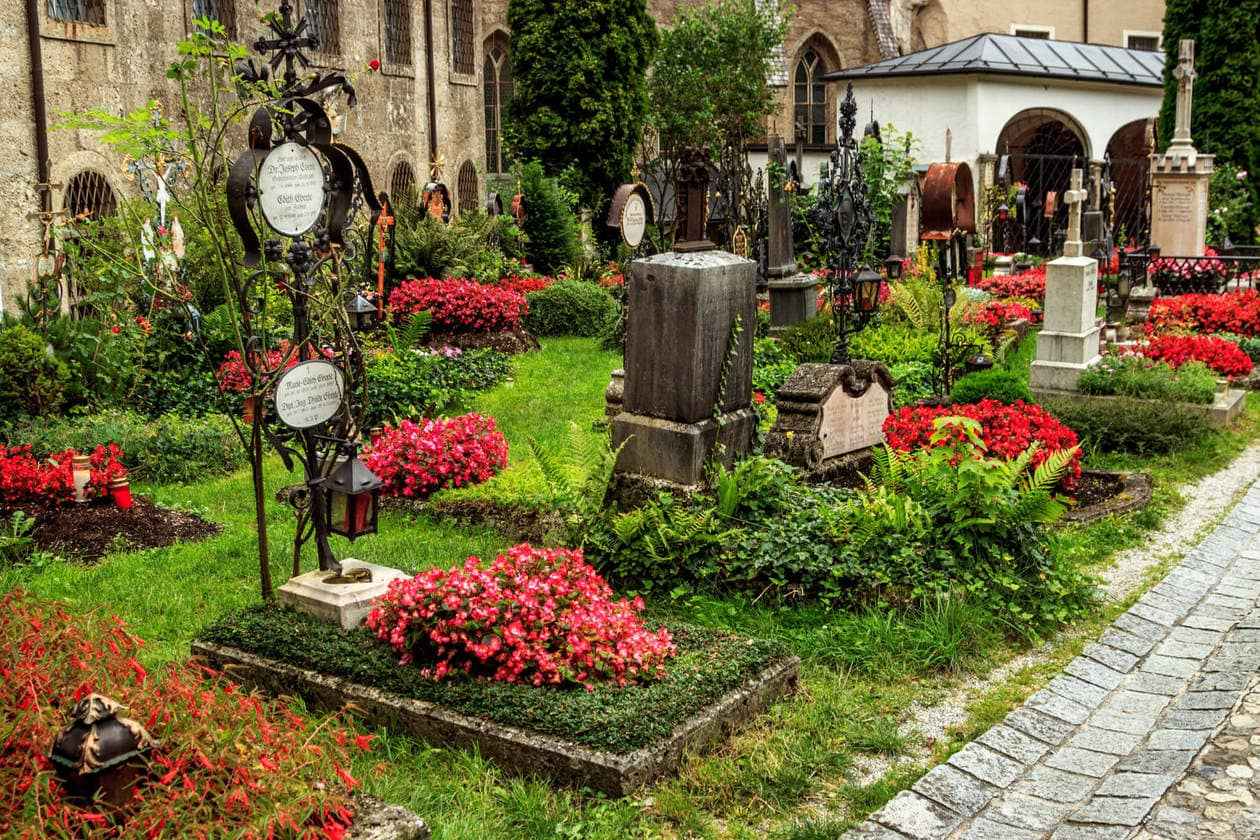 The Top 10 Things to do in Salzburg, Austria // Petersfriedhoff Cemetery