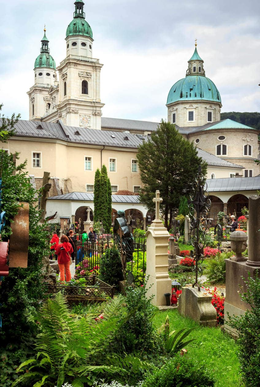 The Top 10 Things to do in Salzburg, Austria // Walk through Petersfriedhoff Cemetery