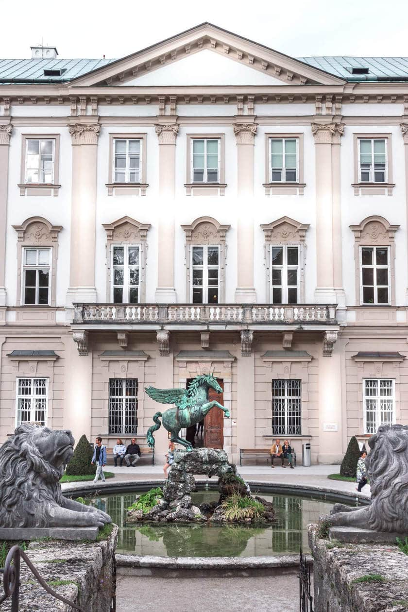 The Top 10 Things to do in Salzburg, Austria  // The Sound of Music Fountain, Mirabell Gardens