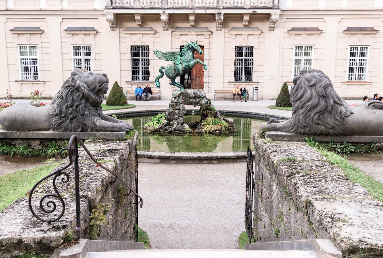 The Sound of Music Fountain, Salzburg