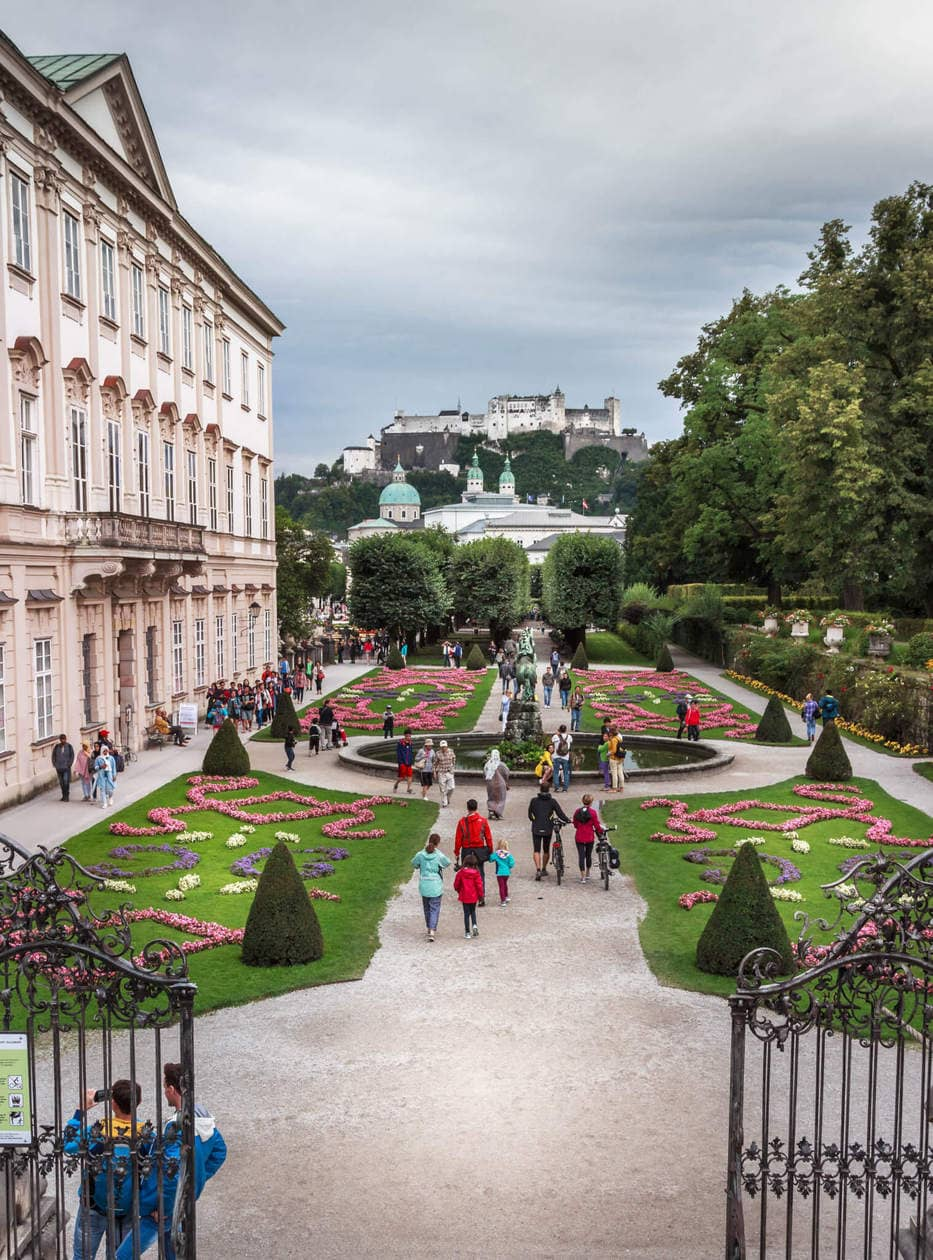 The Sound of Music Steps, Mirabell Gardens