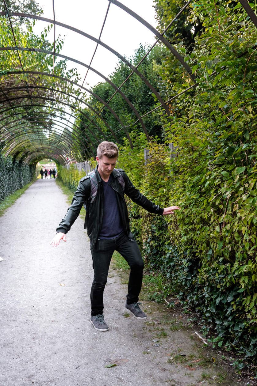 The Sound of Music Hedge Tunnel | Mirabell Gardens
