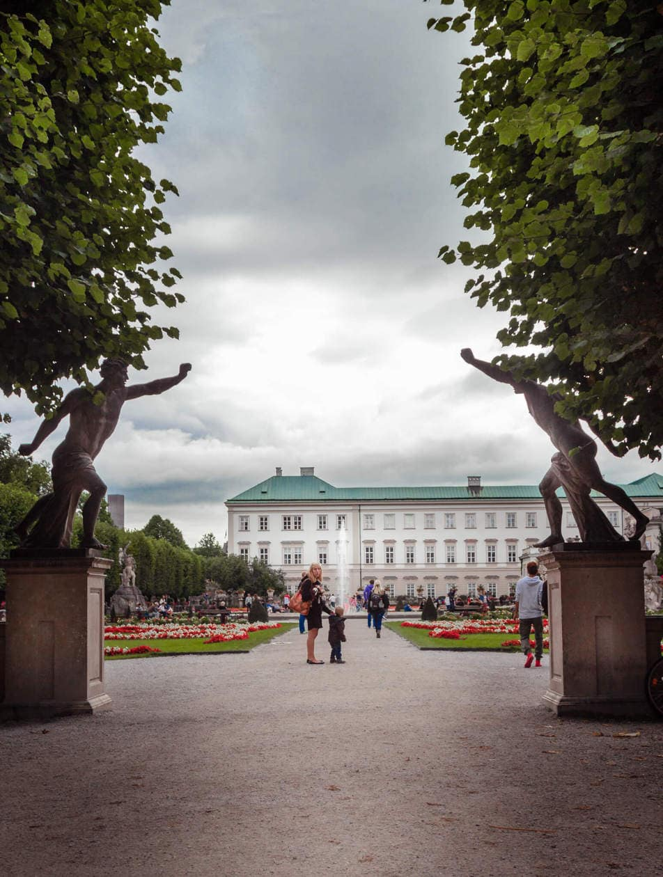 The Sound of Music Locations at Mirabell Gardens