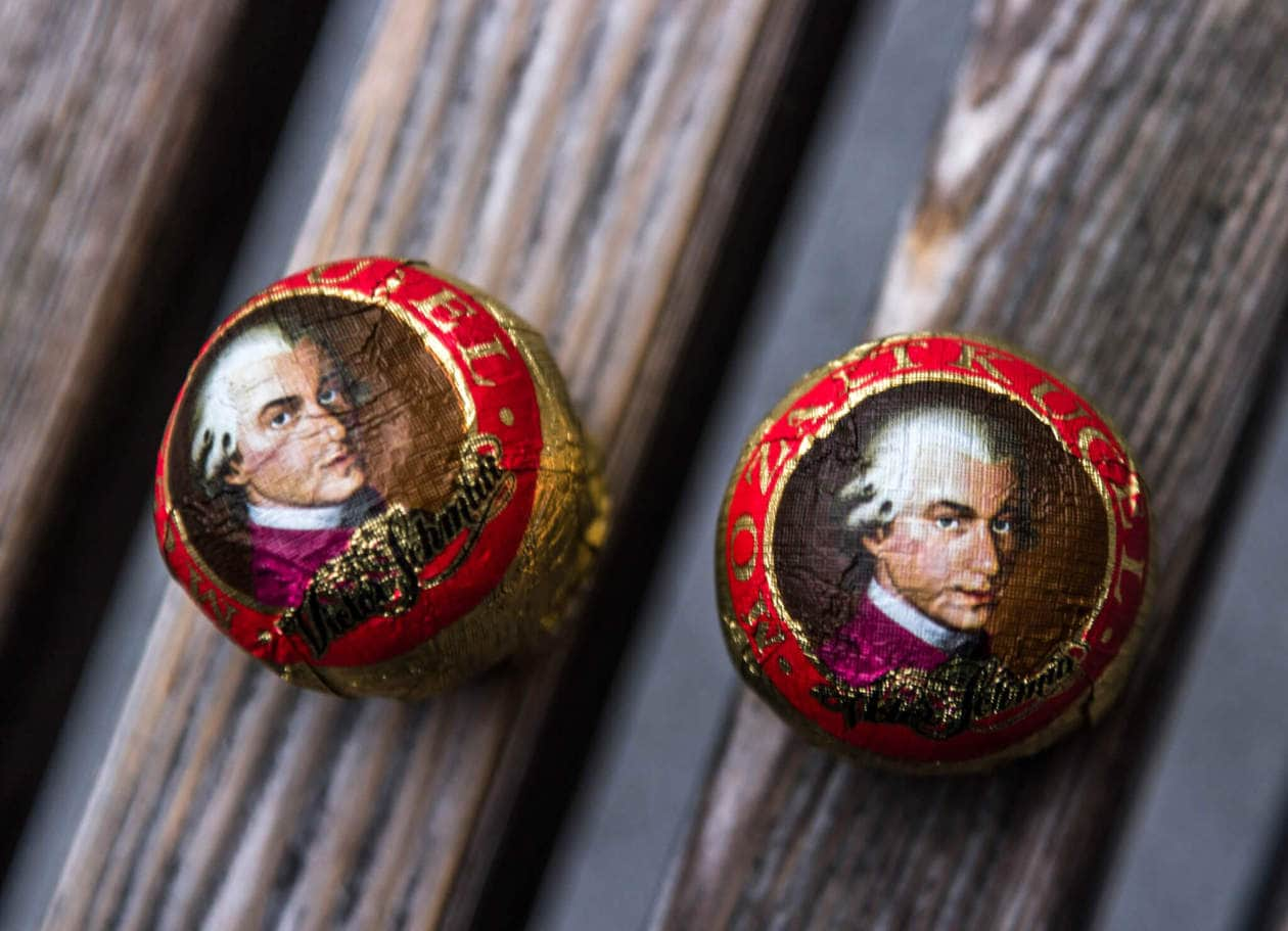 The Top 10 Things to do in Salzburg, Austria // Try the local food. Mozart Balls are popular chocolate candies named after Salzburg's most famous resident, Mozart