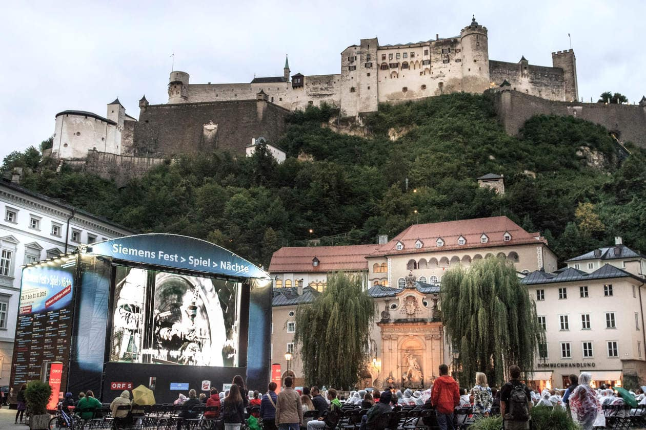 The Top 10 Things to do in Salzburg, Austria  // Check out the local music scene, go to a music festival or support the local street performers.