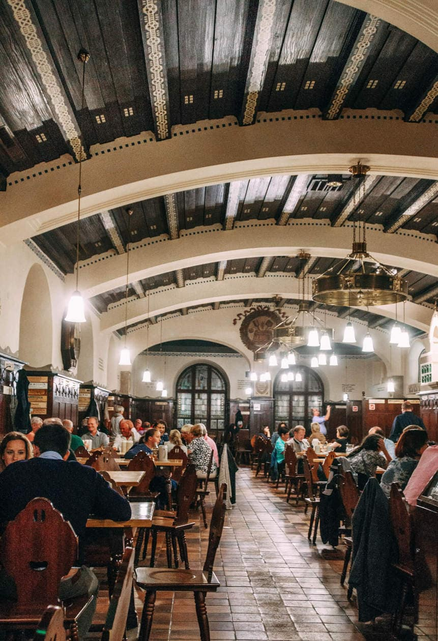 The Top 10 Things to do in Salzburg, Austria // Augustiner Bräustuben: The largest beer hall in Austria