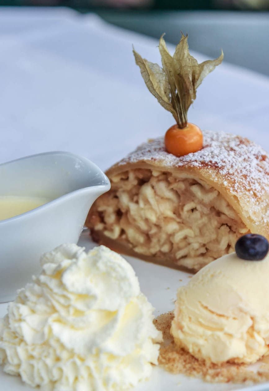 The Top 10 Things to do in Salzburg, Austria // Taste the local food. Apple Strudel is one of the nation's most popular desserts.