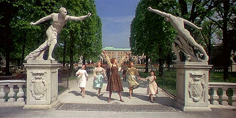 Sound of Music - Mirabell Gardens