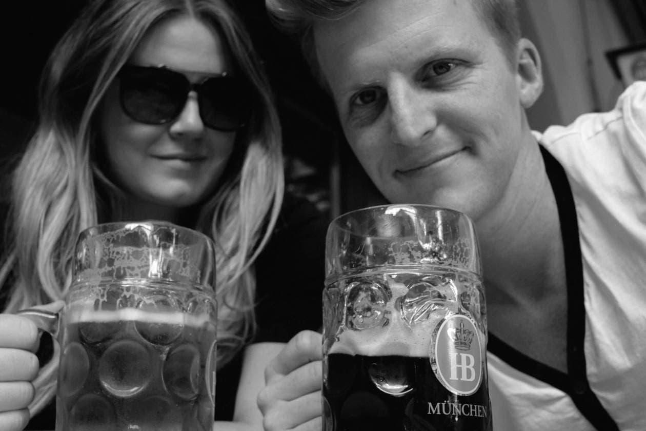 Hofbrauhaus Liter Beer