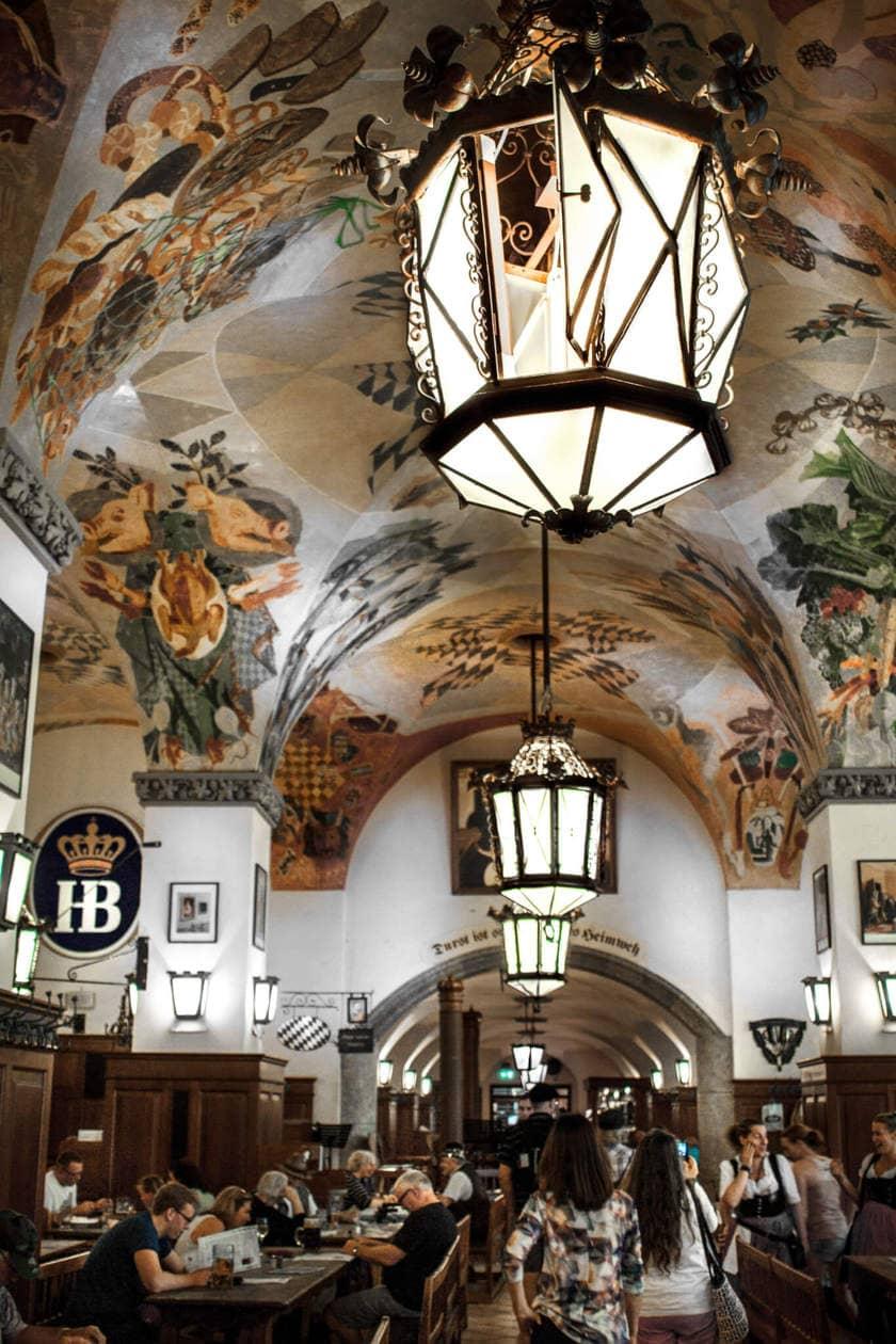 Hofbrauhaus Interior