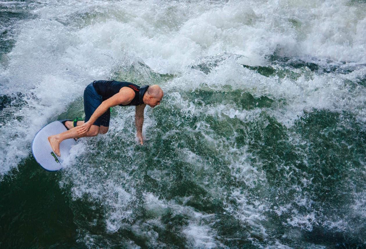 Munich Surfing River