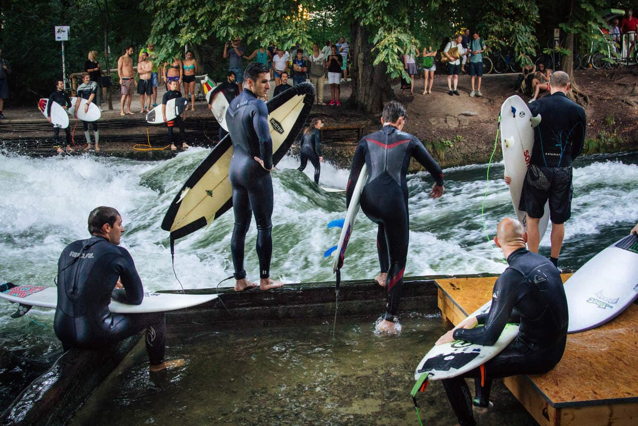 River Surfers | English Garden