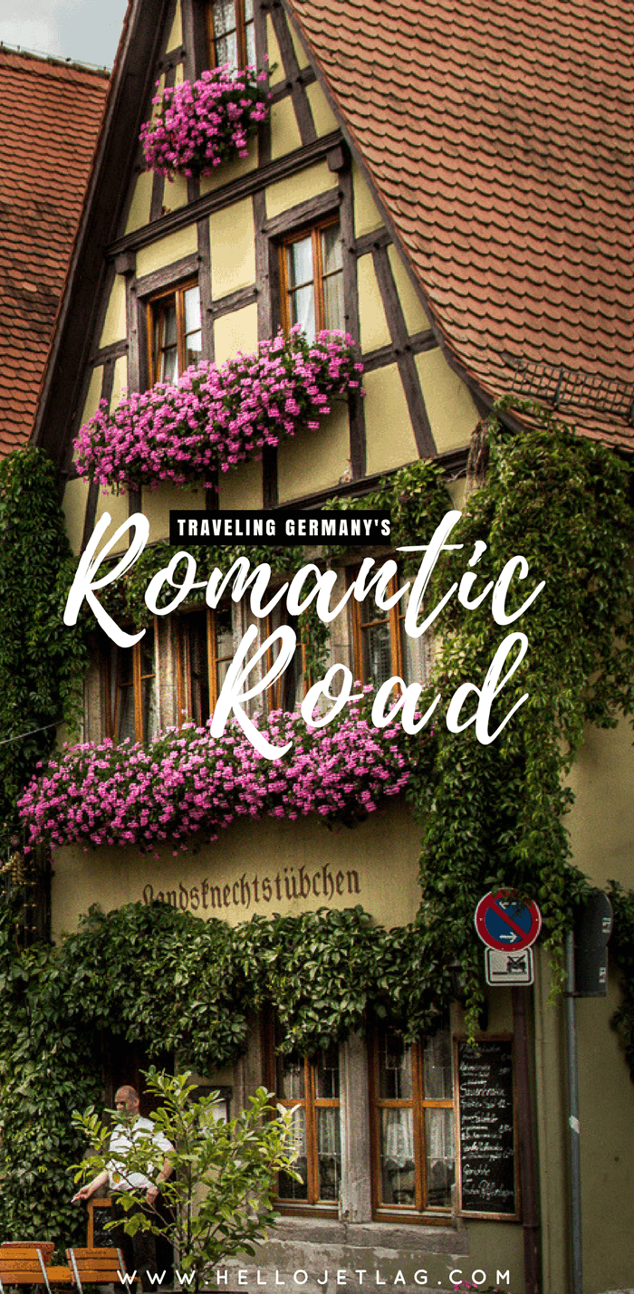 Germany's Romantic Road Travel Guide // Maps, Photos and a 4 Day Suggested Itinerary from Wurzburg to Fussen