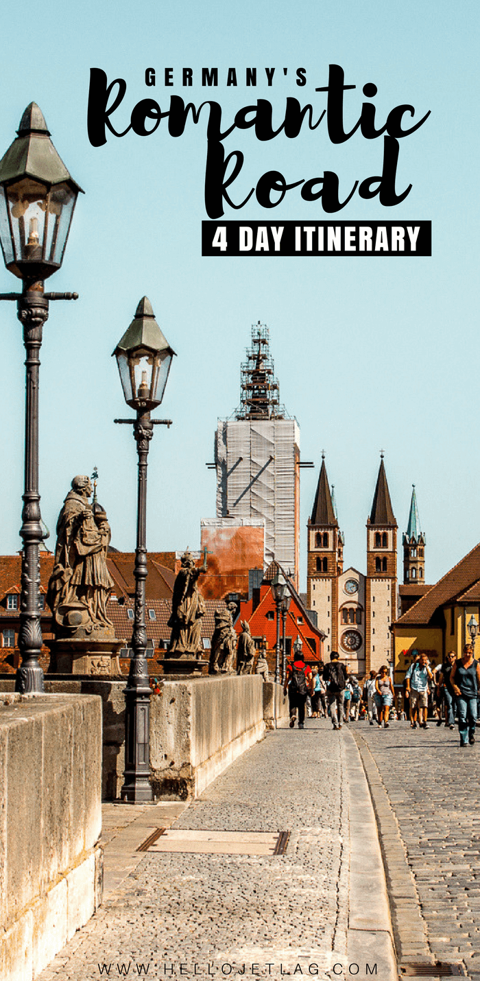 Germany's Romantic Road Travel Guide  // Maps, Photos and a 4 Day Itinerary