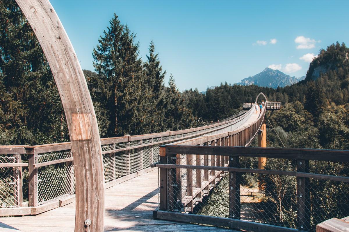 Fussen Germany Treetop Walkway