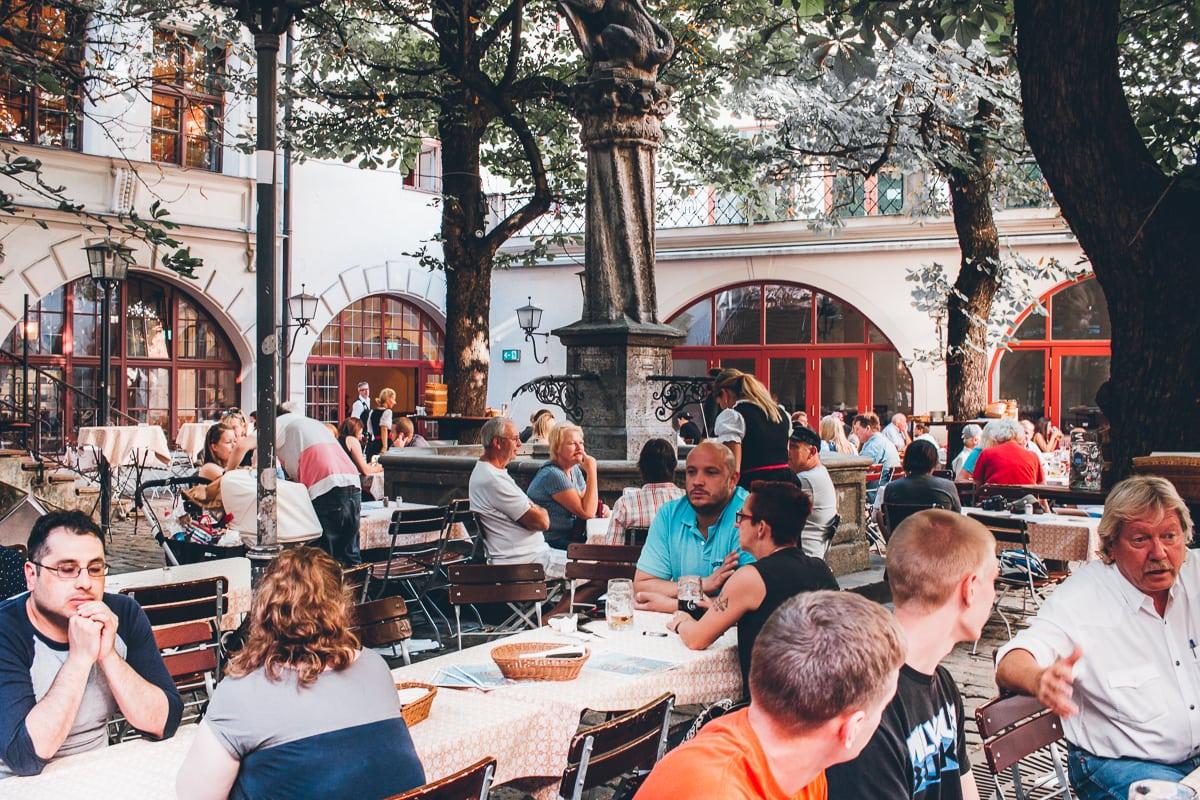 Hofbrauhaus Beer Garden