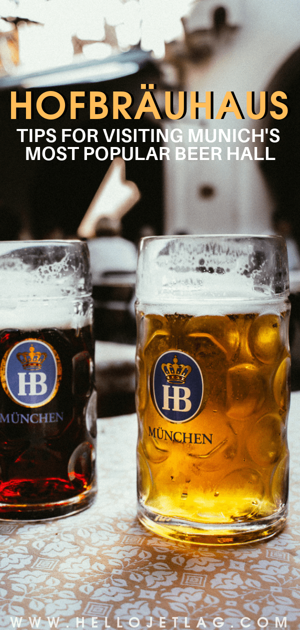 Tips for visiting Hofbrauhaus