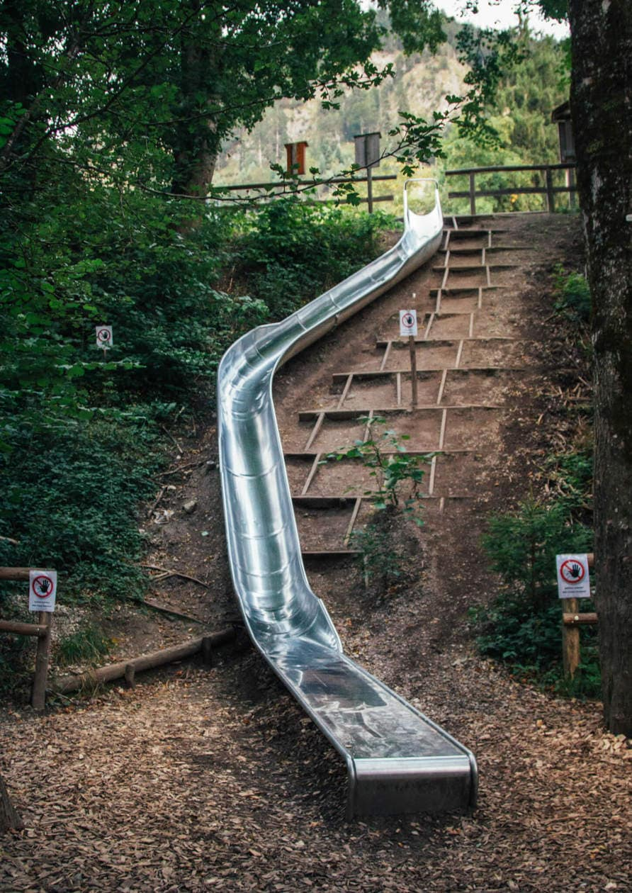 Fussen, Germany Slide