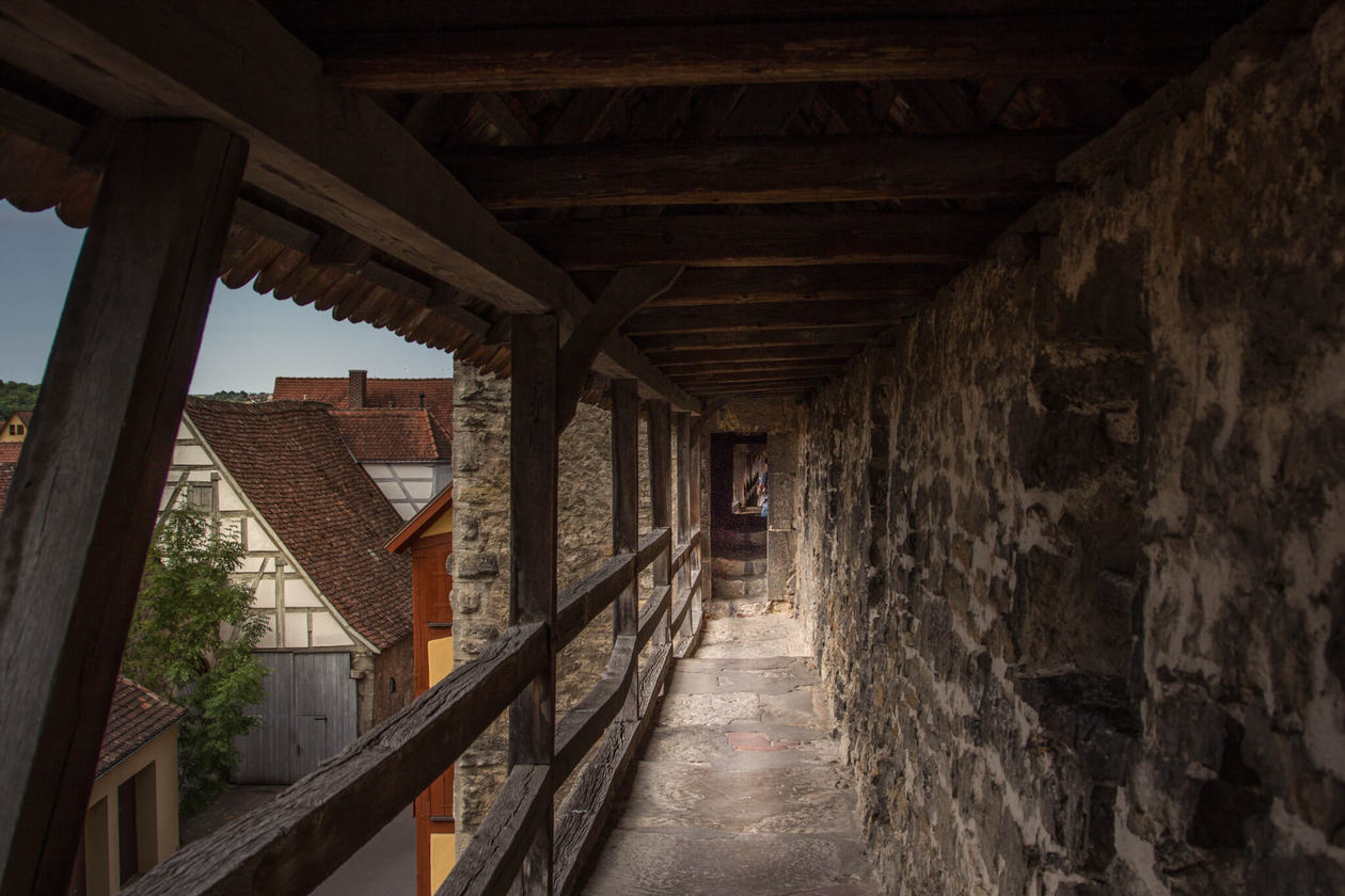 Rothenburg Ob Der Tauber Town Wall
